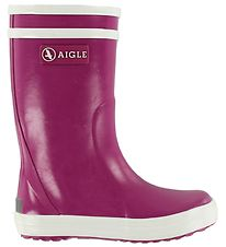Aigle Rubber Boots - Lolly Pop - Fuchsia