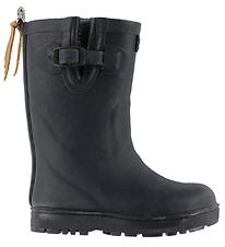 Aigle Rubber Boots w. Lining - Woodypop Fur - Navy