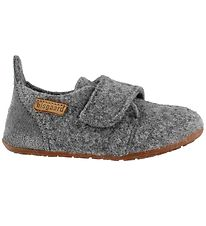 Bisgaard Slippers - Wool - Grey