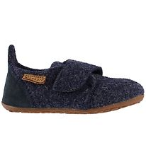 Bisgaard Slippers - Wool - Navy