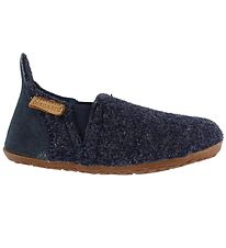 Bisgaard Slippers - Wool - Sailor - Navy