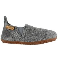 Bisgaard Slippers - Wool - Sailor - Grey