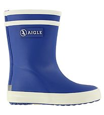 Aigle Rubber Boots - Baby Flac - Dark Blue