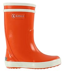 Aigle Rubber Boots - Lolly Pop - Orange