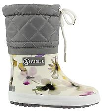 Aigle Thermo Boots - Giboulee - Wildflower