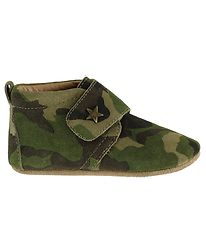 Bisgaard Soft Sole Suede Shoes - Army