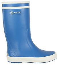 Aigle Rubber Boots - Lolly Pop - Blue