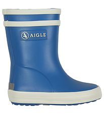 Aigle Rubber Boots - Baby Flac - Blue