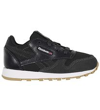Reebok Classic Trainers - Leather - Charcoal