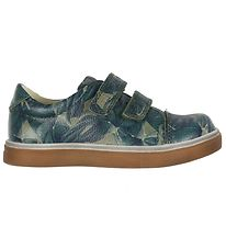En Fant Trainers - Lupus - Green w. Leaves