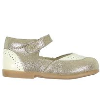 En Fant Ballerina Shoes - Leda - Gold