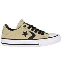 Converse Trainers - Star Player - Khaki Suede