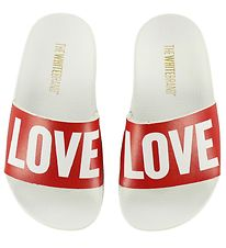The White Brand Beach Sandals - Love
