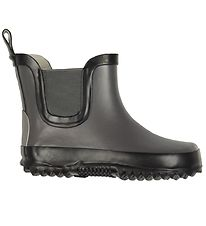 Mikk-Line Rubber Boots - Dark Grey