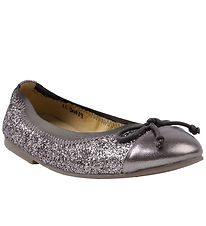 Petit by Sofie Schnoor Ballerina Shoes - Silver Glitter
