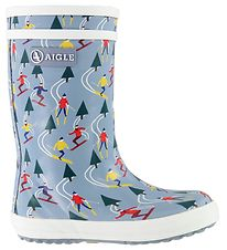 Aigle Rubber Boots w. Lining - Lolly Pop Fur - Ski