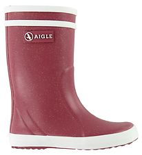 Aigle Rubber Boots - Lolly Pop Glit - Garance