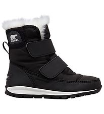 Sorel Winter Boots - Childrens Whitney Strap - Black