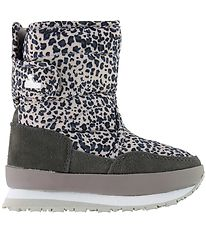 Rubber Duck Winter Boots - Snowjoggers - Grey Leo