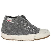 Living Kitzbühel Slippers - Wool - Grey Melange