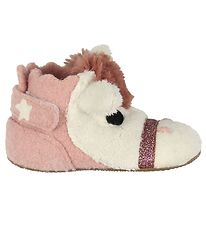 Living Kitzbühel Slippers - Wool - Horse - Rose