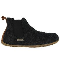 Living Kitzbühel Slippers - Chelsea - Wool - Charcoal