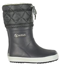 Aigle Thermo Boots - Giboulee - Grey