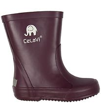 CeLaVi Rubber Boots - Dark Purple