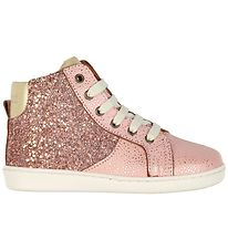 Bisgaard Trainers - Rose w. Gold Glitter