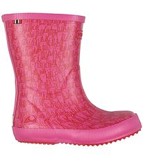Viking Rubber Boots - Classic Indie - Rabbits - Magenta