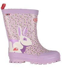 Viking Rubber Boots - Jolly - Big Rabbit - Lavender
