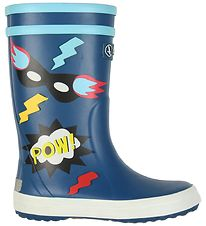 Aigle Rubber Boots - Lolly Pop Fun - Superheroes