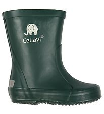 CeLaVi Rubber Boots - Dark Green