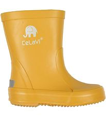 CeLaVi Rubber Boots - Yellow