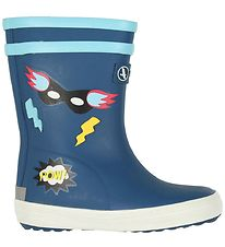 Aigle Rubber Boots - Baby Flac Fun - Superheroes