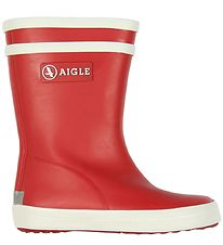 Aigle Rubber Boots - Baby Flac - Rouge New