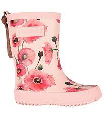 Bisgaard Rubber Boots - Rose w. Flowers