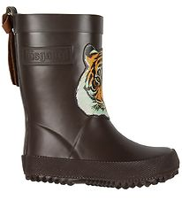 Bisgaard Rubber Boots - Brown w. Tiger