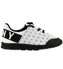 DKNY Trainers - Black/White w. Letters
