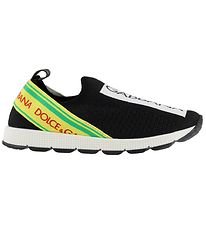 Dolce & Gabbana Sneakers - Black w. Yellow