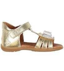 Bundgaard Sandals - Camille - Gold w. Bow