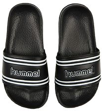 Hummel Beach Sandals - Pool Slide - Black