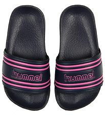 Hummel Beach Sandals - Pool Slide - Navy