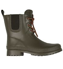 Bisgaard Rubber Boots - Army Green