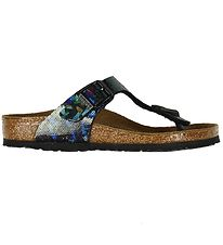 Birkenstock Sandals - Gizeh - Holographic Black