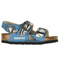 Birkenstock Sandals - Milan - Lovely Shark Blue