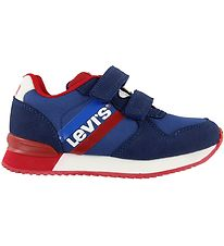 Levis Trainers - Springfield Velcro - Blue/Red