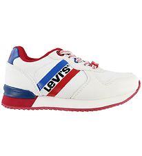 Levis Trainers - Springfield - White w. Red
