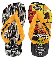 Havaianas Flip Flops - Os Incriveis 2 - White w. The Incredibles