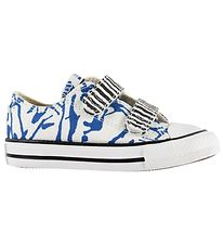 Converse Trainers - Ctas 2V OX - White/Blue